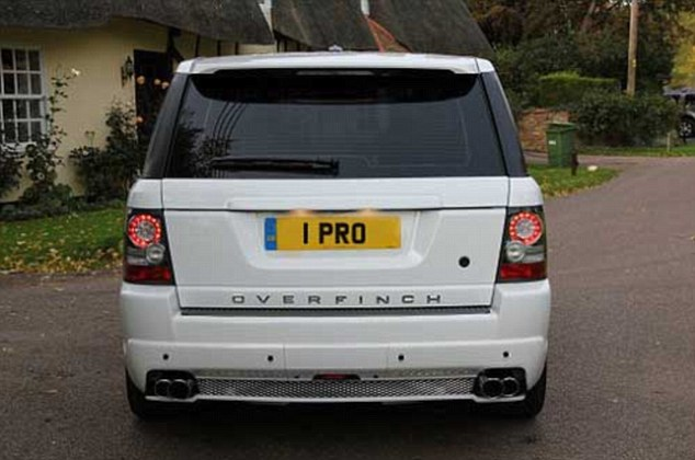 1 PRO on a Range Rover