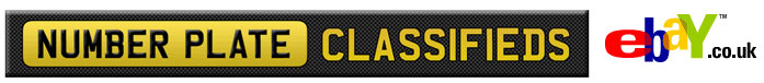 Number Plate Classifieds; eBay