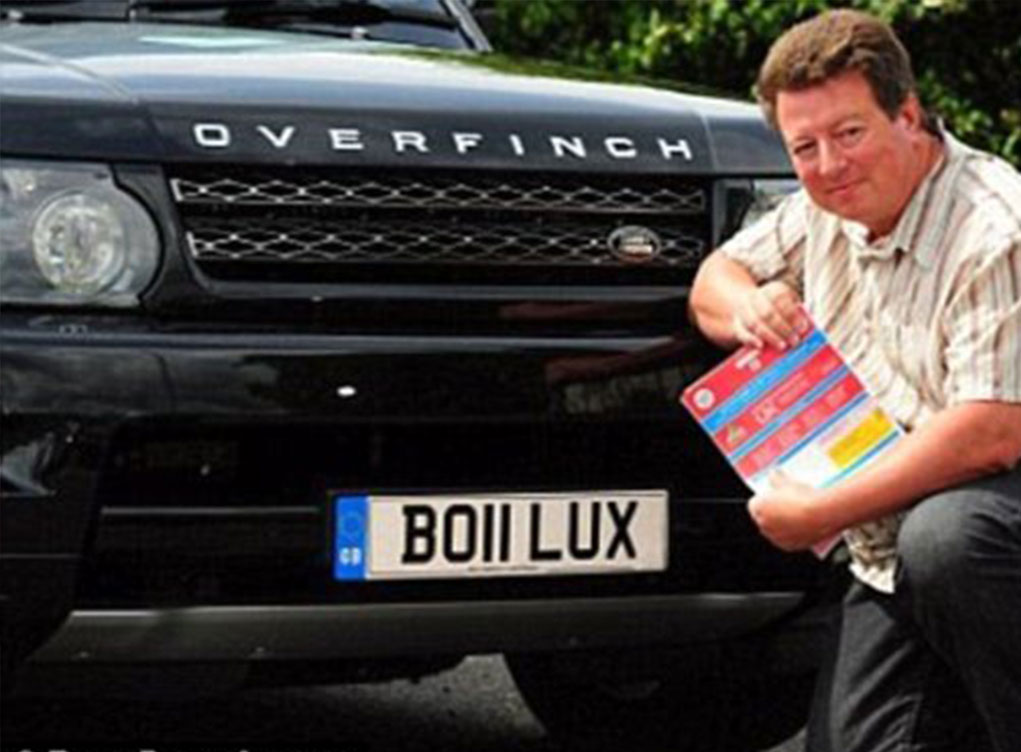 BO11LUX number plate