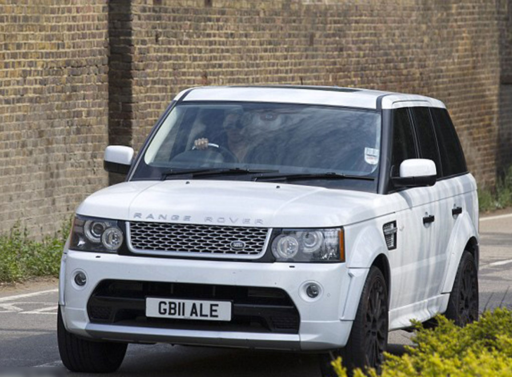 GB11ALE number plate