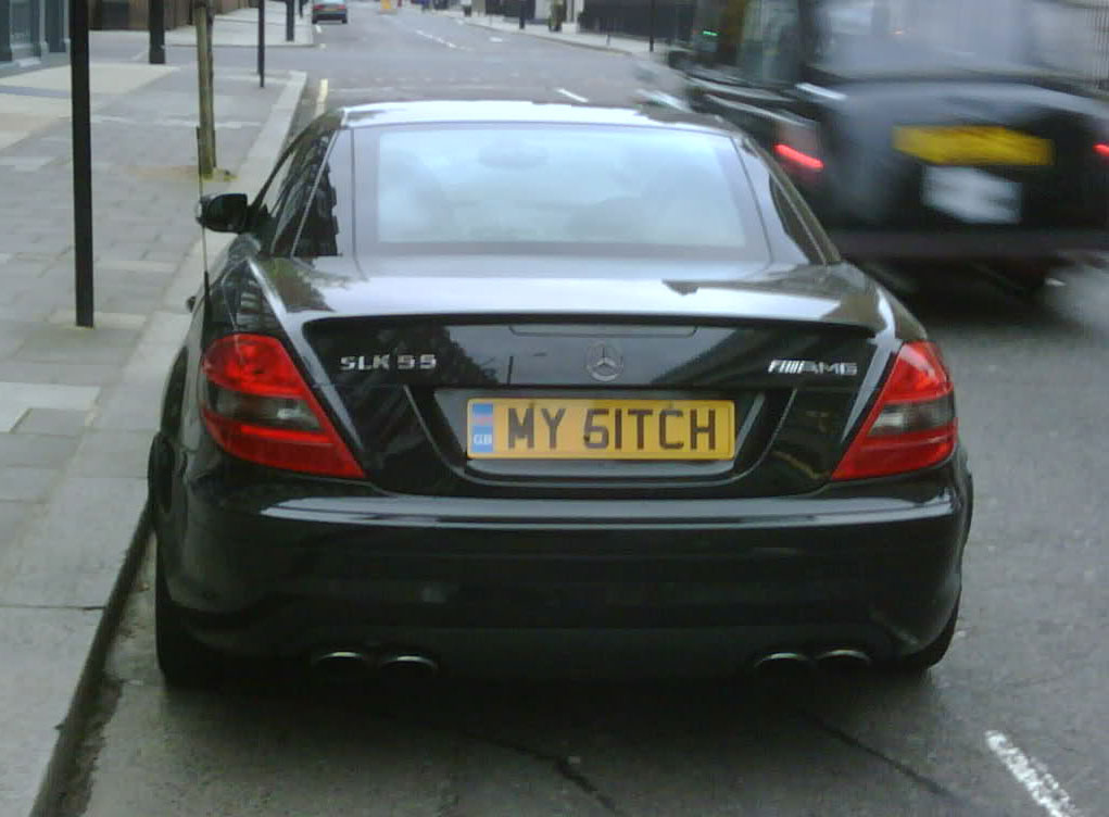 MY51TCH number plate