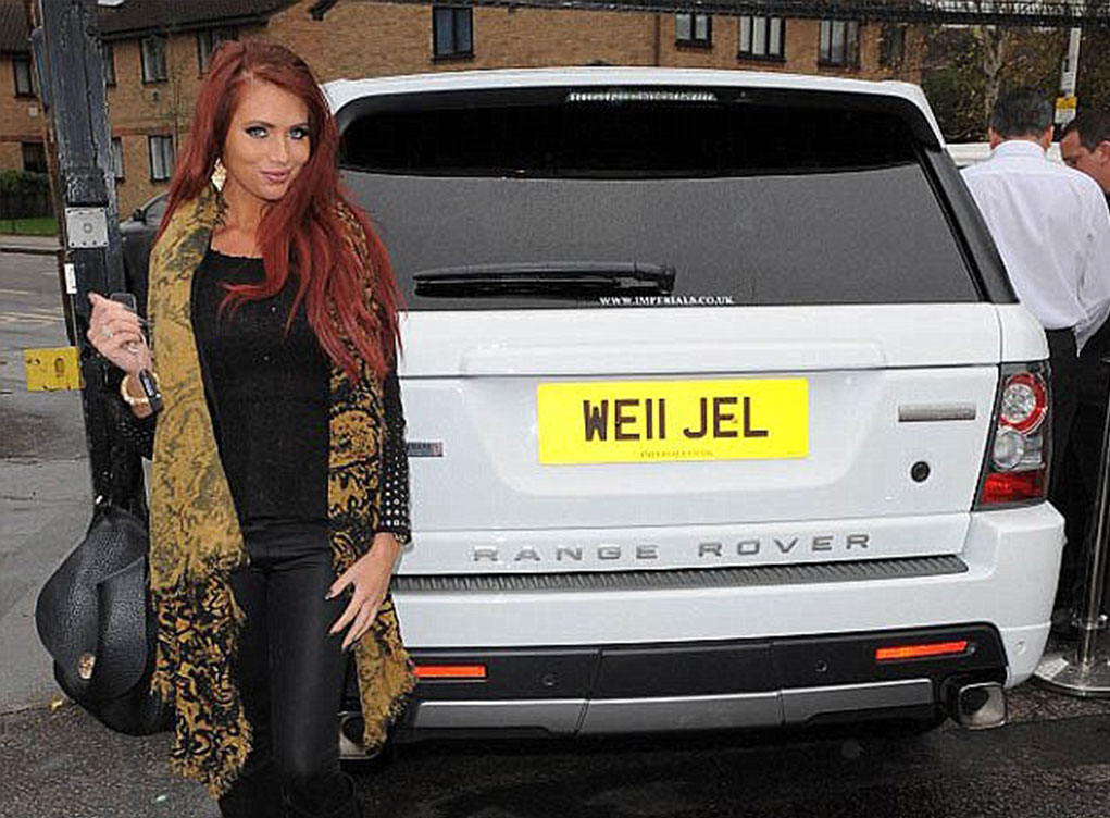 WE11JEL number plate